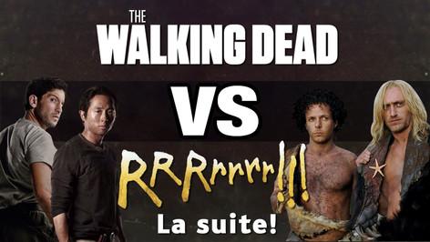 THE WALKING DEAD VS RRRRRRR !!! 2