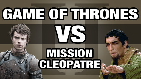 GAME OF THRONES VS ASTERIX MISSION CLEOPATRE 2