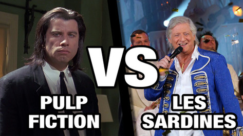 PULP FICTION VS LES SARDINES (PATRICK SEBASTIEN)