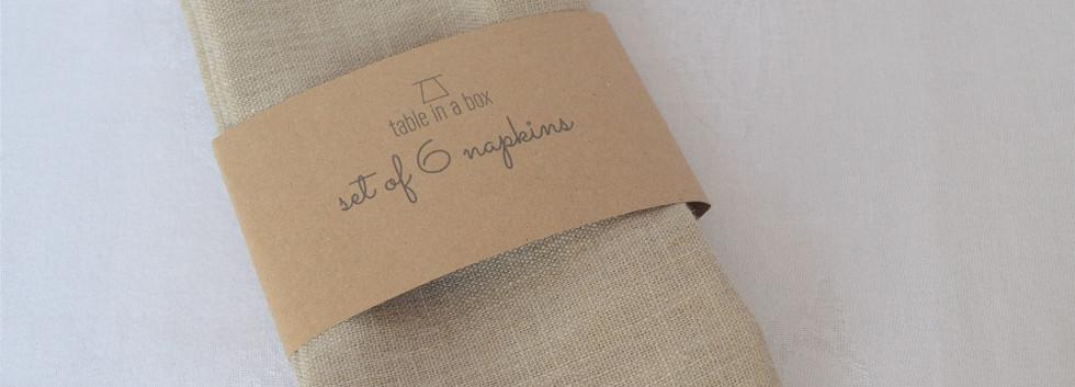 Chai napkins
