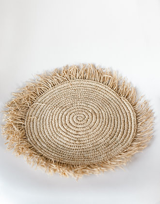 'Fluffy' sisal placemats