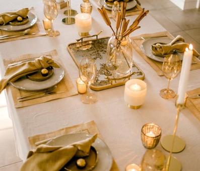 Midas table setting