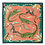 Thumbnail: Ardmore Riverchase Napkins in Coral - set of 2