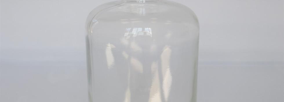 Glass bottle large