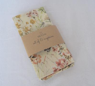 Blush napkins