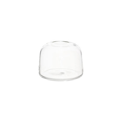 Clear glass 'Stockholm' vase - small