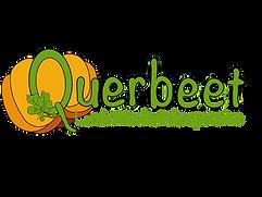 Kürbis Querbeet Logo mit Blatt Transpare