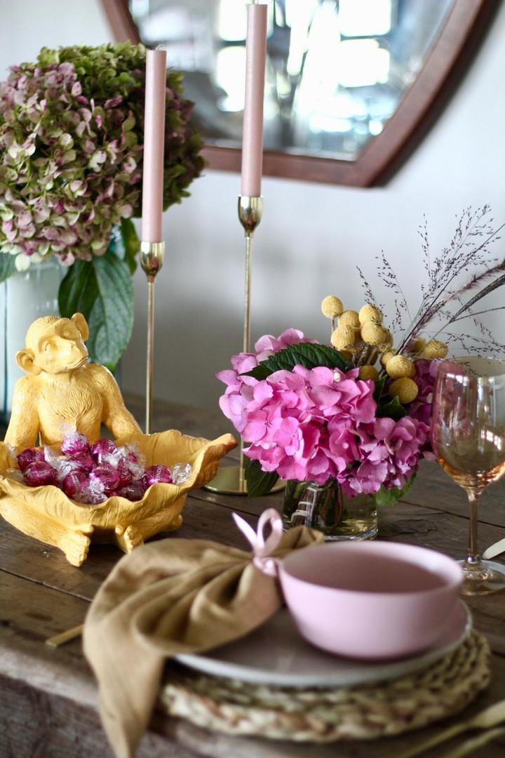 My Sweetheart table setting