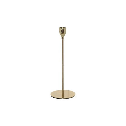 Gold candle stick 33cm