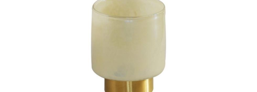 Cream wax votive