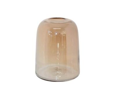 Large amber Stockholm vase