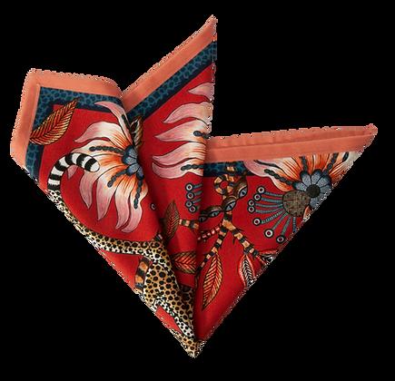 Ardmore Leopard Royal Napkins - set of 2