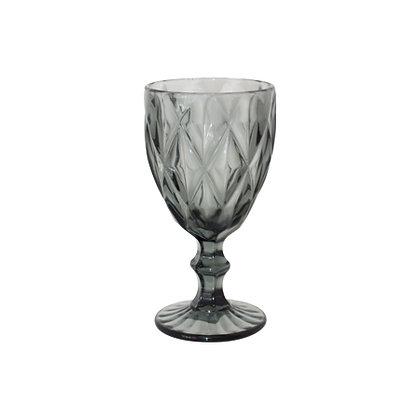 Trent grey wine glass - set of 2