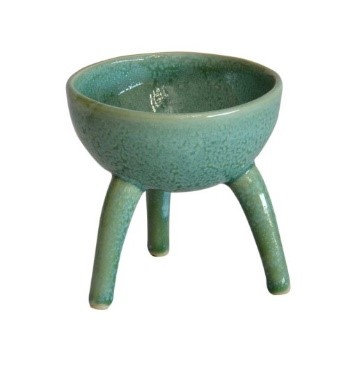 Small jade tripod bowl