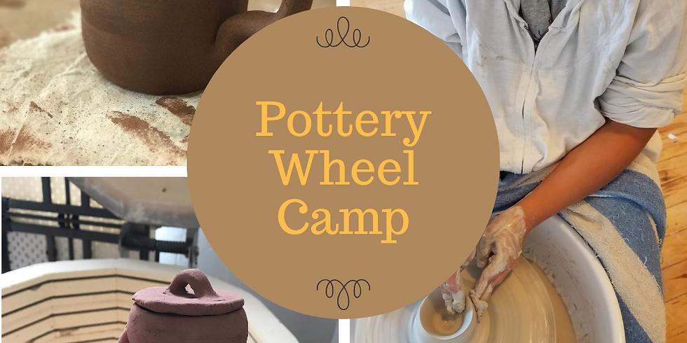 Kids Pottery Wheel Camp