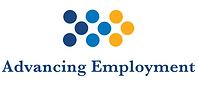 Advancing Employment logo shown