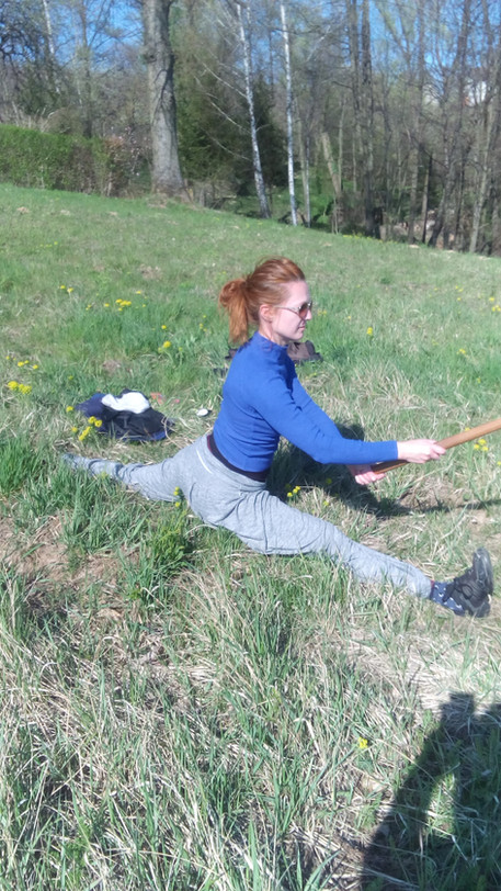 Aikido on Grass by Marta Bury (PL)