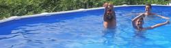 Soyez cool dans la piscine