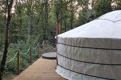 The romantic Forest Yurt