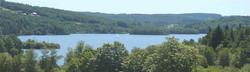 Lake Vassiviere is 20 minutes away