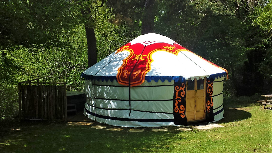 Our Luxurious Yurt