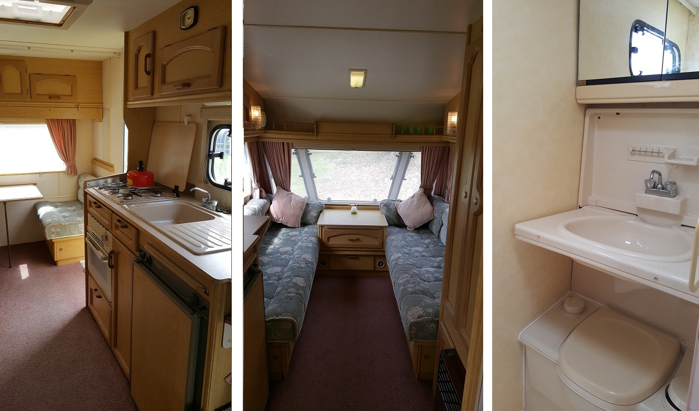 Caravan for one or two people