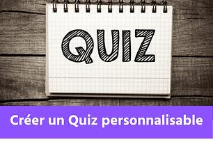 Créer un Quiz personnalisable sur Wix