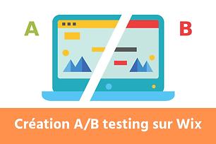 Créer page A/B Testing