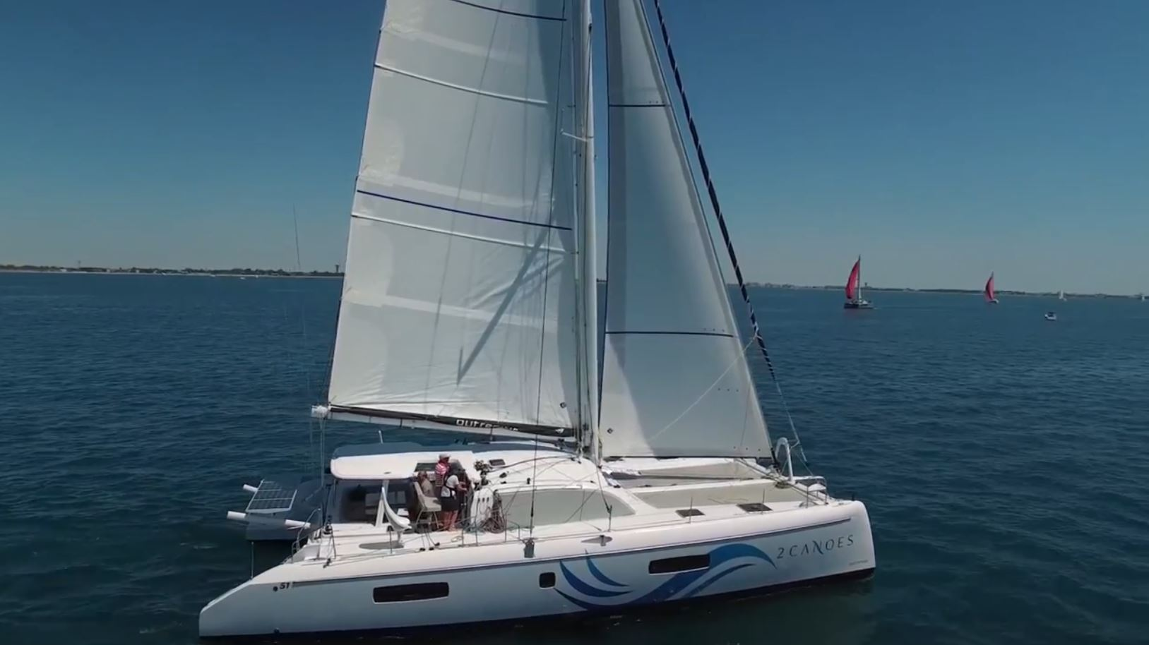 Outremer 51 -  2 Canoes
