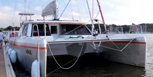 alumarine 1er SC48 -catamaran de voyage aluminium