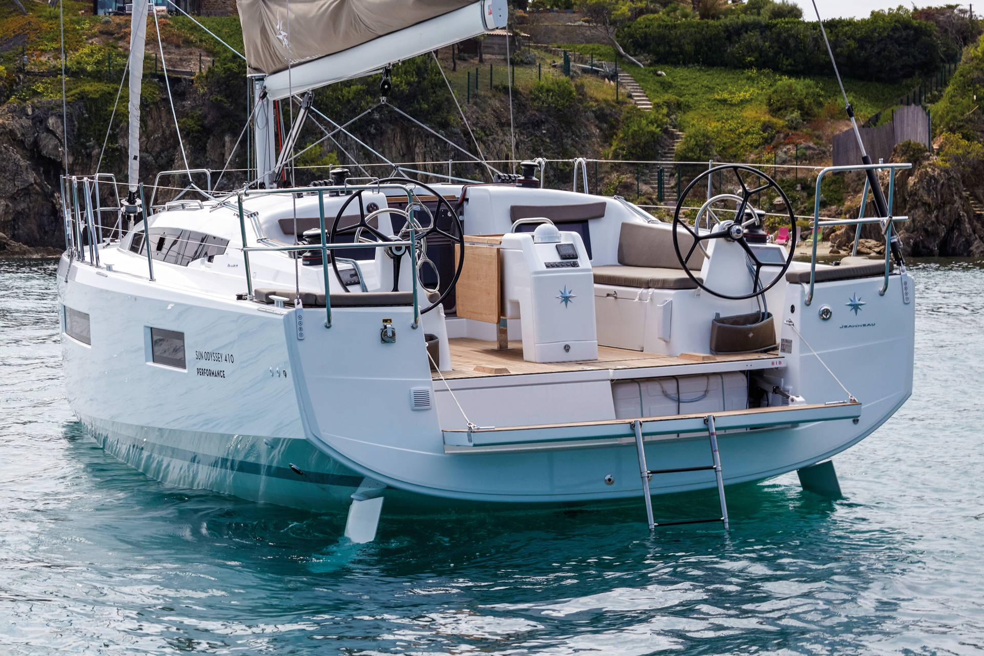 Sun Odyssey 410 Quille Relevable