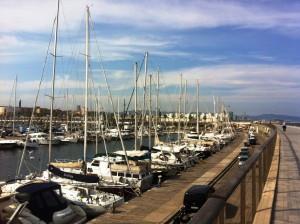 Place de port en Espagne