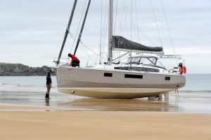 OVNI 450: a great lifting keel aluminium yacht