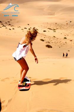 Riding the Dunes of South Sahara