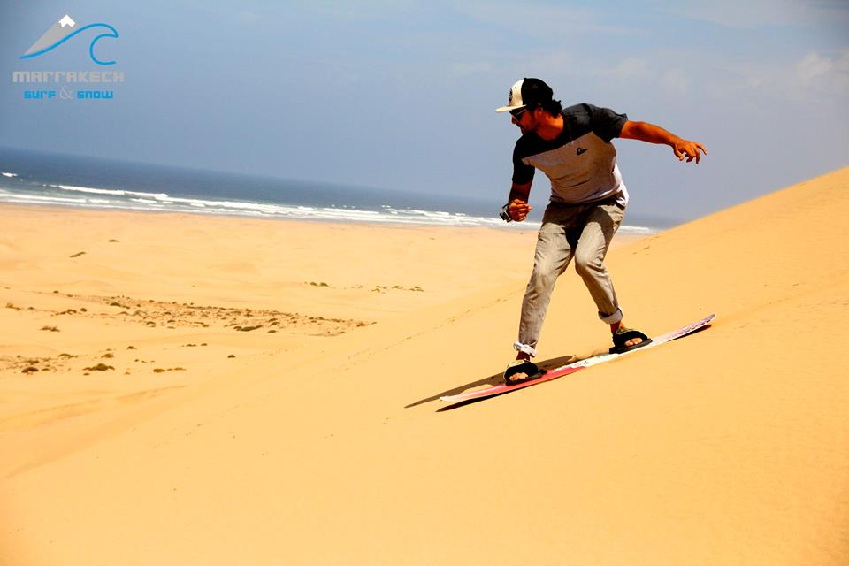 Sand Boarding in Morocco