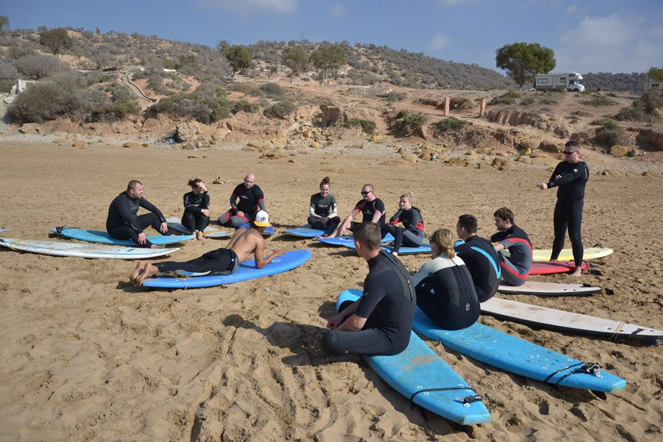 Taghazout surf lessons
