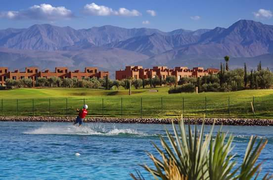 Marrakech Cable Park Wakeboarding