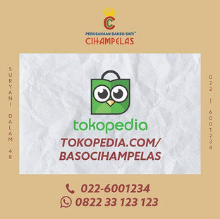 Kini kami hadir di Tokopedia