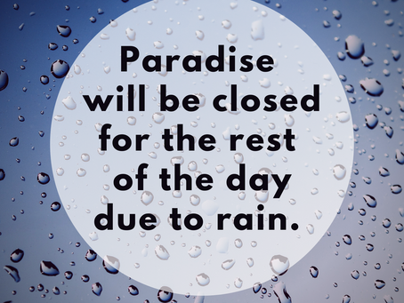7/1/2020: PCC closed due to weather including Tennis