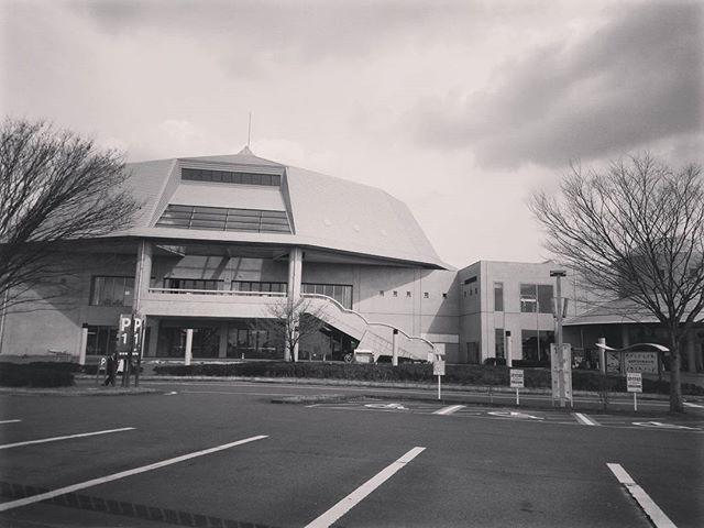 2016年の益城町体育館