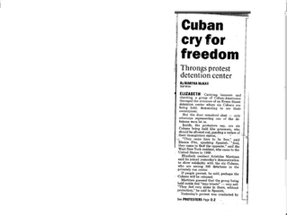 Cuban Cry For Freedom