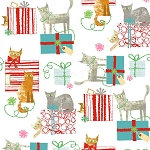Gift Wrapped Cats