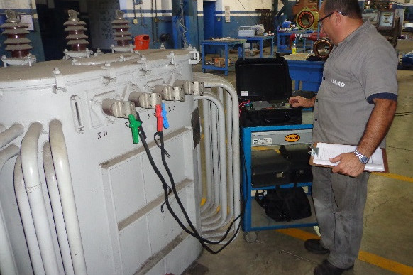Ensaios Elétricos em Transformadores