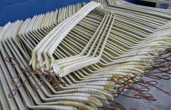 Confecção de bobinas de média tensão