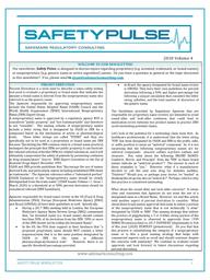 SafetyPulse Volume 4 - Percent Derivation