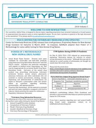 SafetyPulse Volume 5 - Animal Drug Names