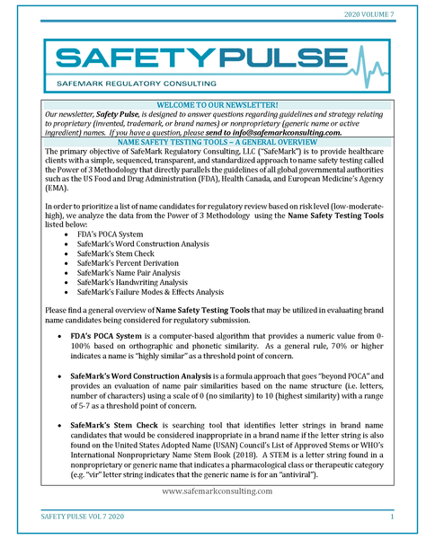 SafetyPulse Volume 7 - Name Safety Tools