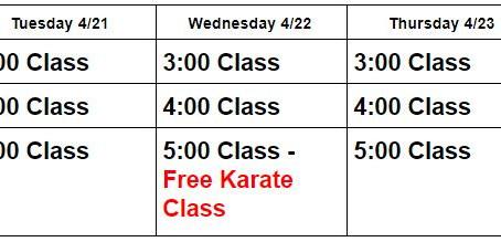 Online Classes 4/20-424