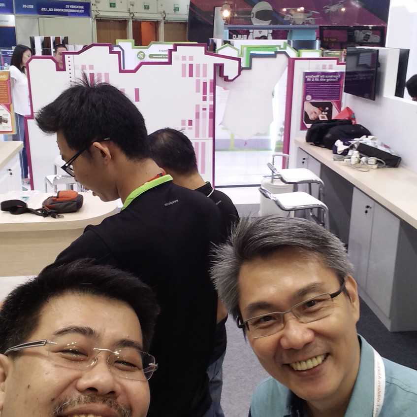 Setup Days Prior to Opening of Communicasia 2016