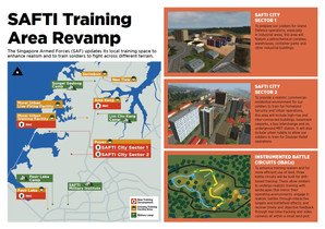 Parliament: New $900m training ground the size of Bishan to give soldiers realistic urban combat exp